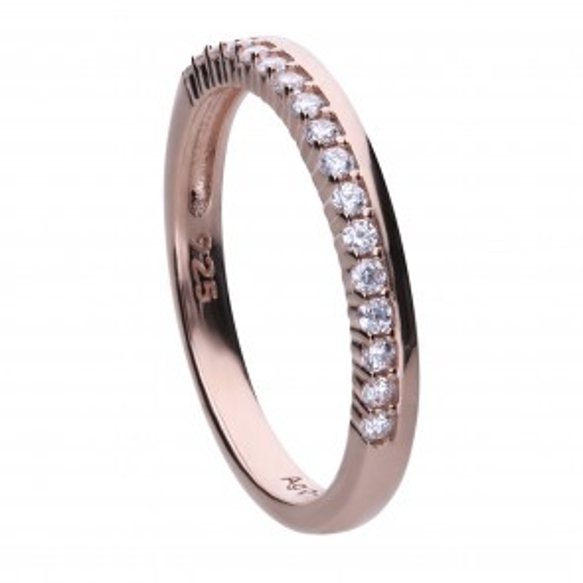 filigraner Ring roségold